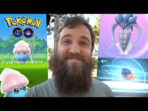 How To: INKAY EVOLUTION! (Psychic Spectacular) +  MORE Hoopa Research -  Pokemon Go