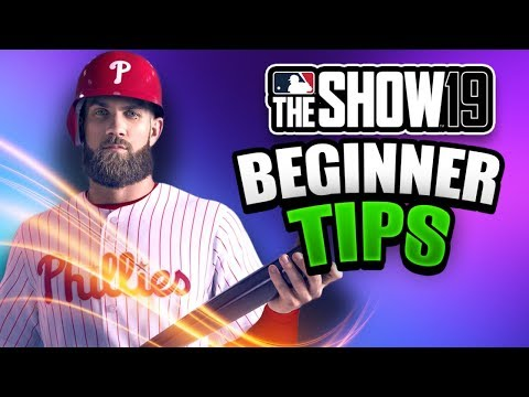 MLB The Show 19 Beginner Tips! MUST WATCH for Anyone New to The Show 19!
